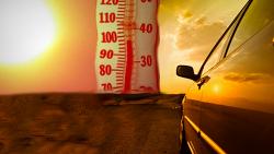 여름철 뜨거운 자동차 식히는 방법
