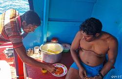 참치의 나라 몰디브 어부에게 고추참치캔을 줬더니