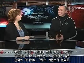 CBC, 윌슨&퀑해설자 김연아 대담(자막)