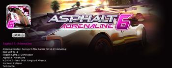 [MAC OSX] 맥용 레이싱 게임 아스팔트6 : 아드레날린 (Asphalt6 : adrenaline)