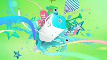 Samsung Tictoc artwork