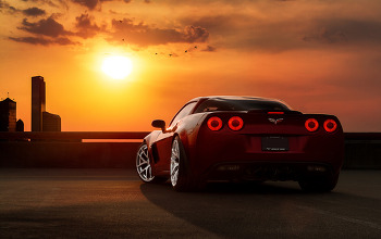 A limited edition 427 Corvette Z06 By Pepper Perfect