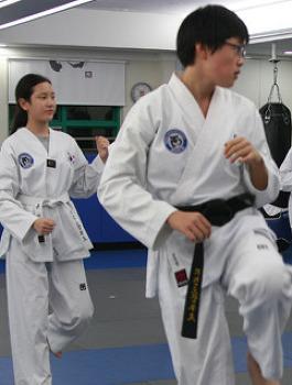 [영상]청소년 클래스 태권도 수련