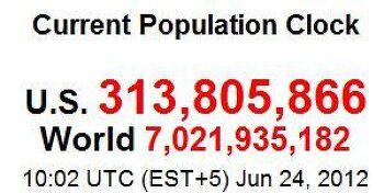 미국 인구조사 결과, 구성 및 주별 현황