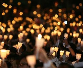 한기총 해체를 위한 촛불 기도회