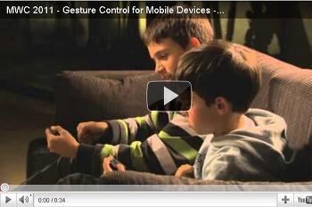 Wii, 키넥트와 같이 동작을 인식하는 안드로이드 앱 iZi