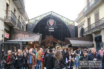61. 바르셀로나 최대의 시장, 보케리아 시장 100배 즐기기