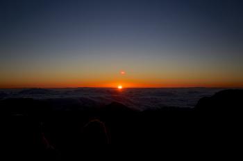 하와이 여행의 하일라이트 - 할레아칼라 일출