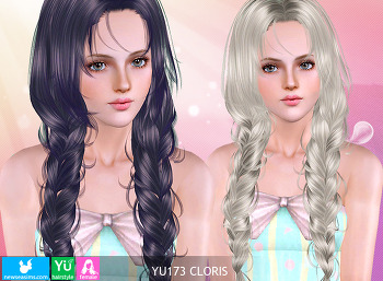 NewSea-SIMS3-hair-YU173-Cloris