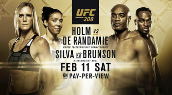 [UFC] UFC 208 예상