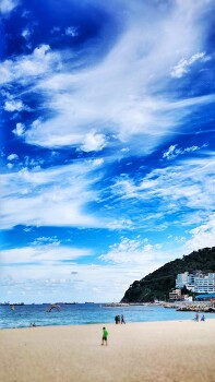#Beach of Korea Phone Background Photos
