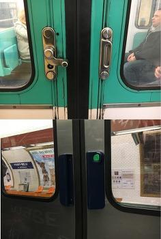 [버락킴의 파리 여행기] 10. 파리의 지하철 문은 수동이라고?