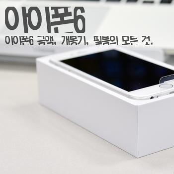 [개봉기] 아이폰6의 모든 개봉기