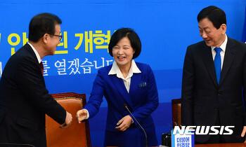 [뉴시스] 민주당 인재영입위 구성…위원장에 원혜영·진영