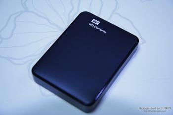 1TB 외장하드 사려다 덜컥 산 1.5TB 웨스턴디지털 외장하드(WD NEW Elements Portable 3.0)