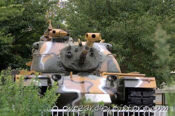 한가로운 오후 어느날 찍어본 M48A2C 전차(M48 패튼 전차)