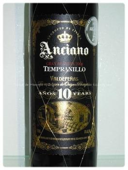 최고의 가성비를 갖춘 뗌프라니요 와인 - Anciano Gran Reserva 2004