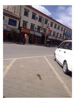 티베트 승려, '달라이 라마 귀국을 허용하라' 1인 시위