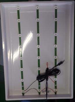 LED 조명액자 라이트패널 대체용 배너 쇼윈도유리