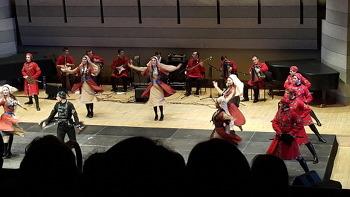 고구려 무용총 춤과 닮았다는 조지아 전통춤