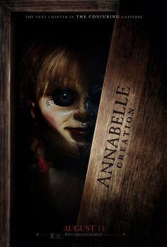 '애나벨: 인형의 주인 Annabelle: Creation, 2017' 탈리타 베이트먼을 노리는 인형