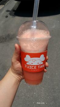 주스탐(juice tam) 수박주스 맛 없다.