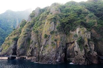 울릉도 여행/ 울퉁불퉁 기암괴석이 멋진 행남해안산책로