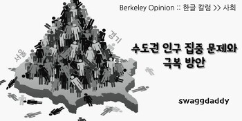 수도권 인구 집중 현상의 폐해와 극복 방안