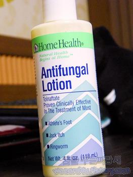 무좀 치료 및 완선 치료에 도움이 되는 Home Health, 항진균제 로션, 4 fl oz (118mL)