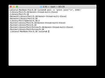 macOS에서 Apache + Perl(CGI) 구동하기