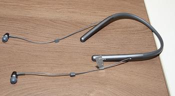 소니 넥밴드 블루투스 이어폰 WI-H700 음질 평가 노이즈 캔슬링