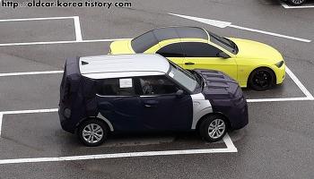 기아 쏘울 (Kia Soul spyshot) 3세대 위장막 차량 사진