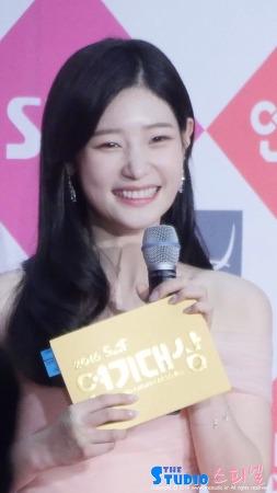161231 SBS 연기대상 레드카펫 다이아 정채연 직캠 by 스피넬