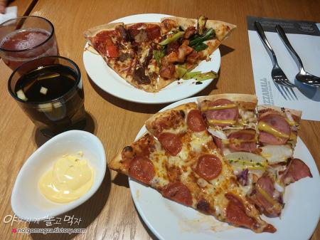 [신천 맛집] 피자몰 딸기축제~ 무제한 피자 & 딸기 디저트 먹고 왔어요.