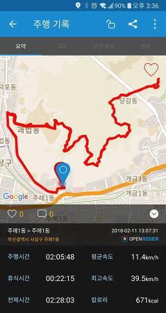 (자전거)신라대-선암사