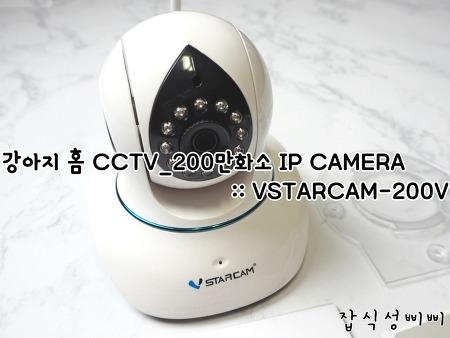 강아지 홈 CCTV_ 200만화소 IP CAMERA :: VSTARCAM-200V 후기!