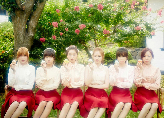 APink (エーピンク)「Pink Luv」画像 (1) 6枚