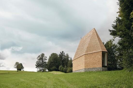 *오스트리아 채플 [ bernardo bader architekten ] A solitary chapel in Austria
