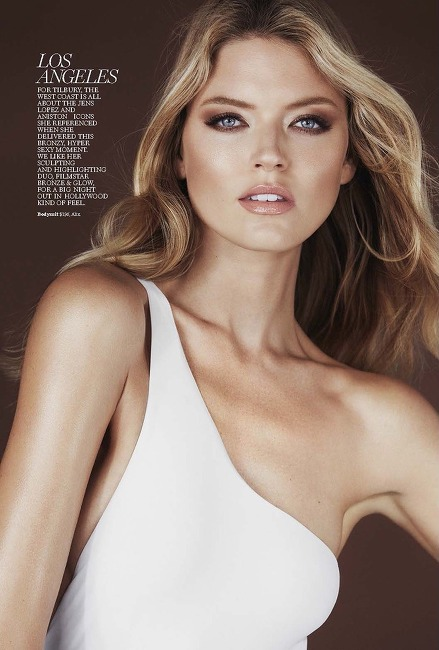 MARTHA HUNT STARS IN MARIE CLAIRE MARCH 2017
