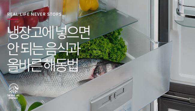 여름철 냉장고에 넣으면 안 될 음식과 올바른..