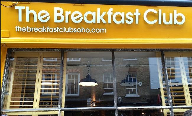 런던 소호 The breakfast club에서 브런치를 즐기다.