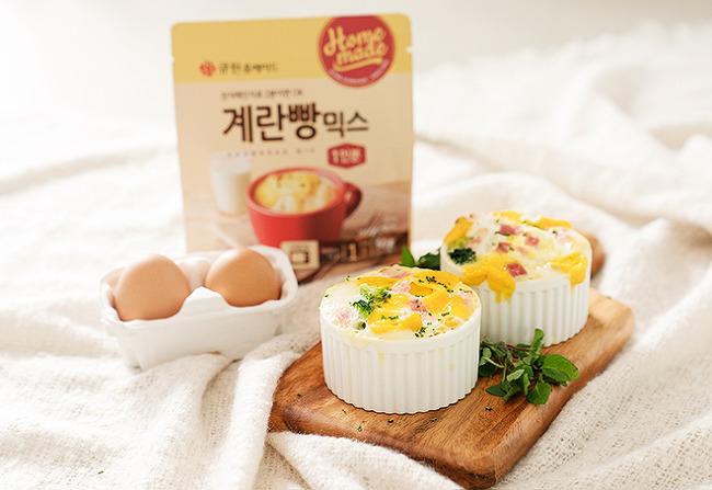 혼자라서 좋은 지금은 1코노미 시대! 1코노미 시대의 맞춤형 레시피, 홈메이드 계란빵믹스
