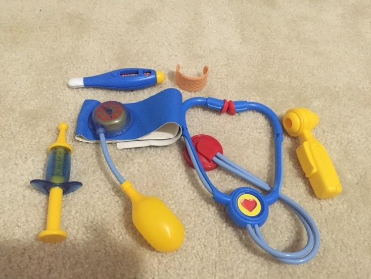 와플이의 병원 놀이