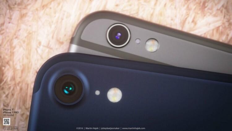 아이폰 7 생산 시작, 확실히 다른 카메라