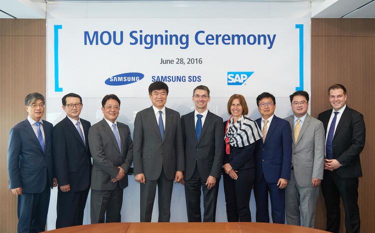 삼성SDS – SAP, 기업용 솔루션 사업 강화