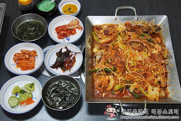 [생생정보 맛집/용산 맛집]생활의 달인 최고로 선정된 소문난 낙지마을!