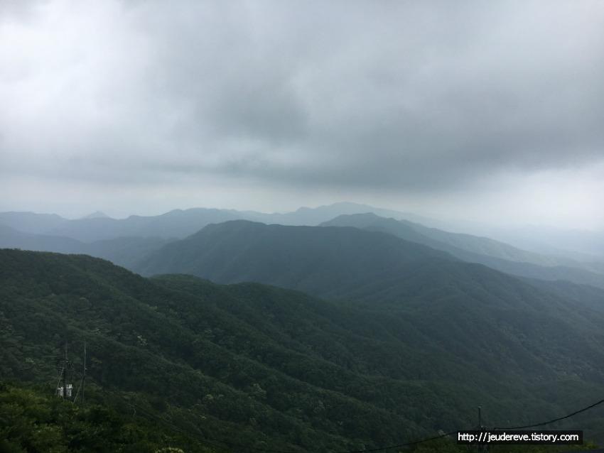 모악산 산행(전주, 2017, 7월초), 정감가는 산