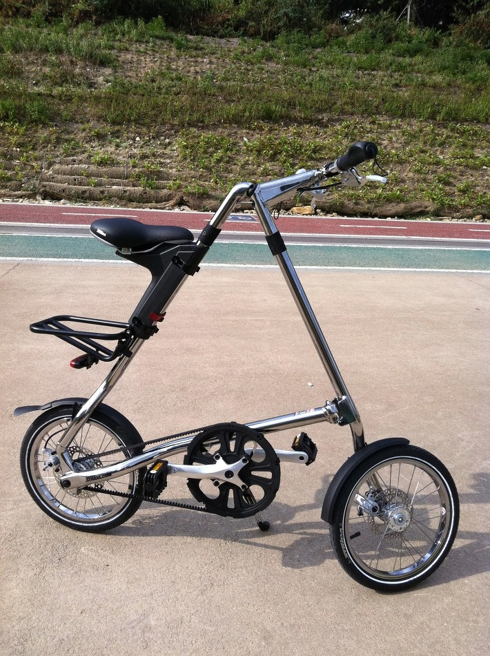 Strida 5.1-QR Chrome (16인치)