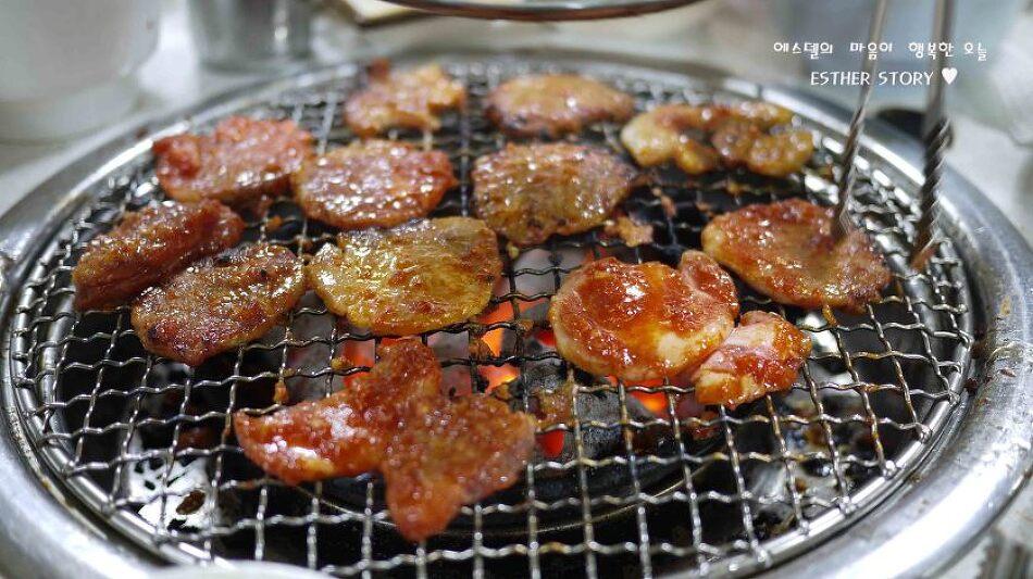 [북창동 맛집] 냉동 동그랑땡이 유명한 삼성 빨간양념 숯불구이