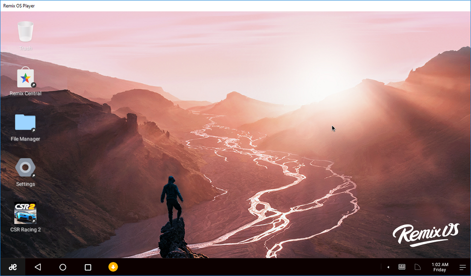 PC에서 안드로이드를 쓰자 - Remix OS Player